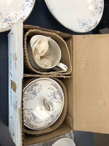 Antique Imperial China W Dalton 5303 Seville Sugar Bowl Set