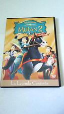 "DVD ""MULAN 2 LA LEYENDA CONTINUA"" WALT DISNEY"