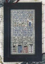 STARS--Sampler--The Drawn Thread--ABC's--Houses--Counted Cross Stitch Pattern