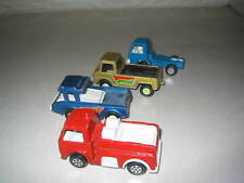 VINTAGE DIECAST TOOTSIETOY CAR TRUCK FIRETRUCK LOT OF (4) FOUR (T13)