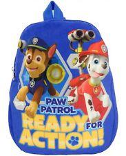 Paw Patrol Rucksack Ready For Action! Backpack Kinder Plüschrucksack Plüsch NEU