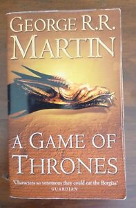 A GAME OF THRONES, George R. R. Martin  pb