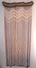 Wooden beaded Curtain doorway door room window divider screen wood beads