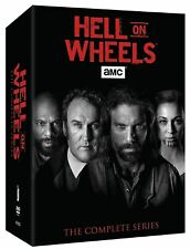 NEW - Hell on Wheels - The Complete Series Seasons 1-5 Box Set DVD 17-Disc