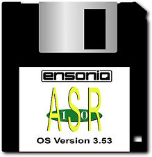 Ensoniq ASR-10 ASR-88 OS Disk 3.53 - 18 Instruments - FREE Overnight Shipping