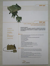 DOCUMENT CILAS ORLEANS DHY GROUND LASER TARGET DESIGNATOR LASER GUIDED WEAPON