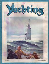 1937 Yachting July - Yale Wins; Dr. Seuss; Gloucester; Peter S Langmaid; Nanuk