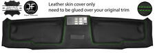 GREEN STITCH TOP ROOF HEADLINER PANEL LEATHER COVER FOR BMW E30 81-92 COUPE