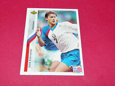 IGOR LEDYAKHOV RUSSIE FIFA WC FOOTBALL CARD UPPER USA 94 PANINI 1994 WM94