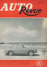 1954 AUTO REVUE MAGAZIN 16 ALFA ROMEO 1900 SUPER SPRINT  NIEDERLÄNDISCH