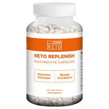 Keto Diet Pills Sodium, Calcium, Magnesium Electrolytes Supplement 240 Capsules
