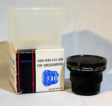 Tokina AF Video Conversion Lens Wide 0.5X For VideoCameras Auto Focus VSC-05PRO