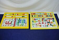 A TEACH - A -TOT TOY & CHILD GUIDANCE TOY ALPHABET SPELLING TOY