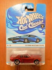 2014 Hot Wheels Cool Classic '67 Ford Mustang Coupe Spectra Frost Red 8/30