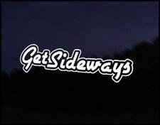 Get Sideways Euro Vag Car VW Decal Sticker Vehicle Bike Bumper Vinyl Graphic