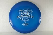 Drone Z 2009 Worlds Stamp 178g Blue LE New Discraft PRIME Disc Golf