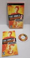 Tony Hawk's Underground 2: Remix for Sony PSP - Complete w/Manual PSP CIB TESTED