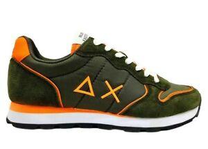 Scarpe da uomo SUN 68 Z31102 Tom sneakers basse casual sportive comode militare