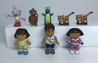 Dora The Explorer Mega Bloks Figures Lot of 8