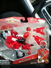 Power Rangers Mini Cycle Red Ranger Toy Action Figure Bandai 2011 Sealed
