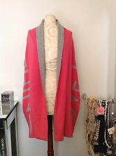 "New BANANA REPUBLIC ""Love Is Everything"" Pink & Gray Cashmere Blend Scarf"