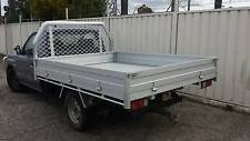 Alloy Ute Tray to suit Single Cab Utes - Ex Display Stock