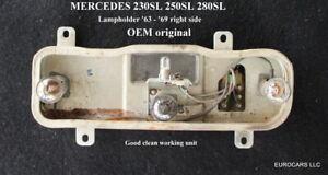 MERCEDES 230SL 250SL W113 Pagoda OEM Tail Light Taillight Bulb Holder - Right