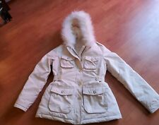 Womens/Girls  Down Feather Winter Jacket With Hood  Size XS