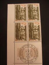 BLOC 4 timbres - YT 1875 - 1er jour - FRANCE - neufs** - ROUEN - 1976