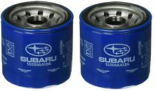 2xOEM 1990-2020 Subaru Engine Oil Filter Forester, Impreza WRX STi 15208AA12A