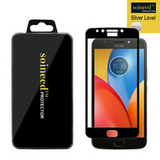 [1-Pack]SOINEED Motorola MOTO E4 Plus FULL COVER Tempered Glass Screen Protector
