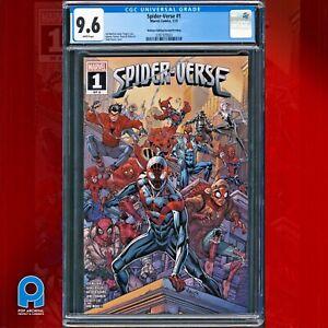 Spider-Verse #1 CGC 9.6 (Marvel 2021) Walmart Edition 2nd Print ~ Spider-Zero
