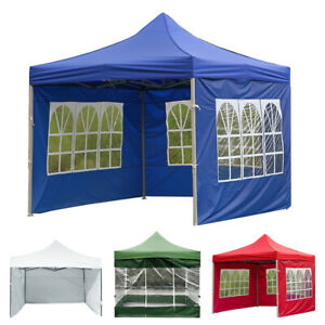 3x2m Tent Surface Canopy Cloth Shade Shelter Duty Windbar Marquee Waterproof