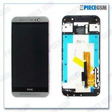 ECRAN LCD + VITRE TACTILE + FRAME pour HTC ONE M9 GRIS FONCE + outils