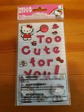 HELLO KITTY STICKERS DECALS SCRAPBOOK USA SELLER