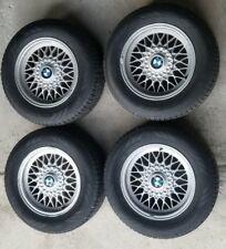 BMW E34 OEM 4 RIMS AND NOKIAN TIRES 205/65R15
