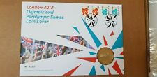 London 2012 Olympic & Paralympic Games £5 Coin Cover No.04237 with 4 Stamps