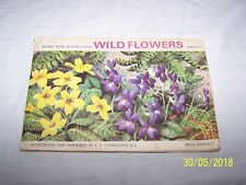 Brooke Bond / PG Tips Picture Cards Album ~ Wild Flowers Series 3 ~ 6d~ complete