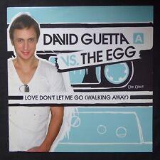 """DAVID GUETTA VS THE EGG Love Don't Let Me Go GUM 2006 EU Press VINYL 12"""" DANCE"""