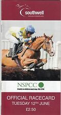 Racecard - Southwell 12th June 2012