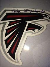 Tony Gonzalez Kansas City Chiefs Atlanta Falcons auto autograph football sticker