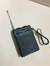 VINTAGE REALISTIC MINI WEATHER RADIO Frequency 162.40 MhZ- 262.55MhZ FROM  1970s