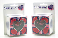 Someday by Justin Bieber 0.25 oz 7.4 ml Parfum Mini Splash for Women (Lots of 2)