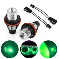 2x LED Angel Eyes Headlight Bulbs Fit For BMW E39 01-03 E83 07-10 E60 E61 04-06