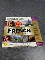 Transparent Language Complete FRENCH Learning Suite for PC, Mac. New Open Box
