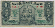 BANQUE CANADIENNE NATIONALE 5 DOLLARS 1935 396916 - F