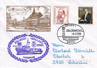 GERMAN CUSTOMS SHIP DOLLART A SHIPS CACHED COVER