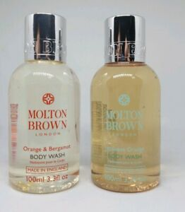 Molton Brown Orange & Bergamot Body Wash 100ml & Japanese Orange Body Wash 100ml