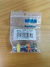 RapidRun® PC (Yellow) Runner to Multi-format (Orange) 15-pin Din Adapter