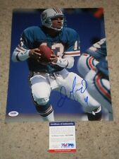 DAN MARINO MIAMI DOLPHINS SIGNED 11x14 PHOTO psa/dna